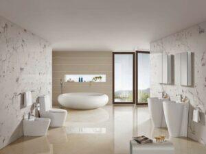 [Kinh nghiệm] lựa chọn gạch lát nền phòng tắm SIÊU ĐẸP