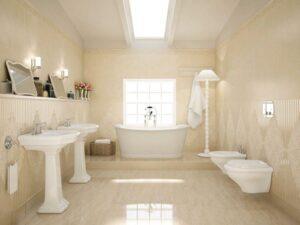 Các cách chọn gạch ốp tường nhà tắm cực sang