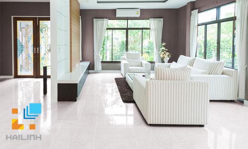 Kinh nghiệm chọn gạch lát nền màu trắng cho nhà ở phong cách hiện đại