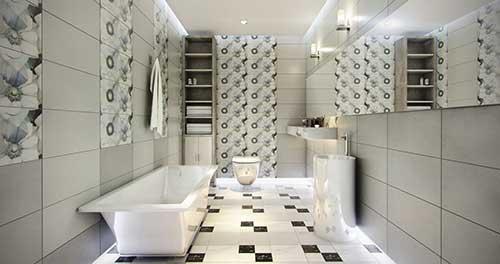 chọn gạch ốp tường nhà tắm đẹp