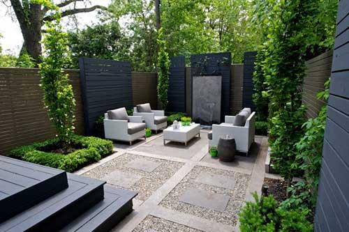 sân vườn hiện đại