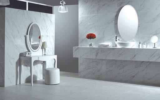 Gạch ốp tường nhà vệ sinh 40x80