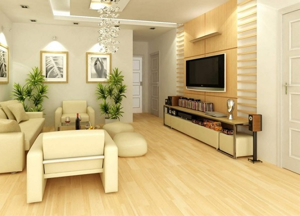 Phối màu gạch lát nền với màu sơn tường nhà theo quy tắc màu liền kề là cách kết hợp màu sắc tương đối nhã nhặn nhưng vẫn có thể mang lại hiệu ứng nổi bật cho không gian nội thất của bạn