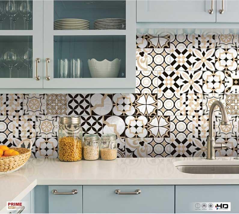 Tổng hợp những sai lầm cơ bản khi lựa chọn gạch ốp tường phòng bếp
