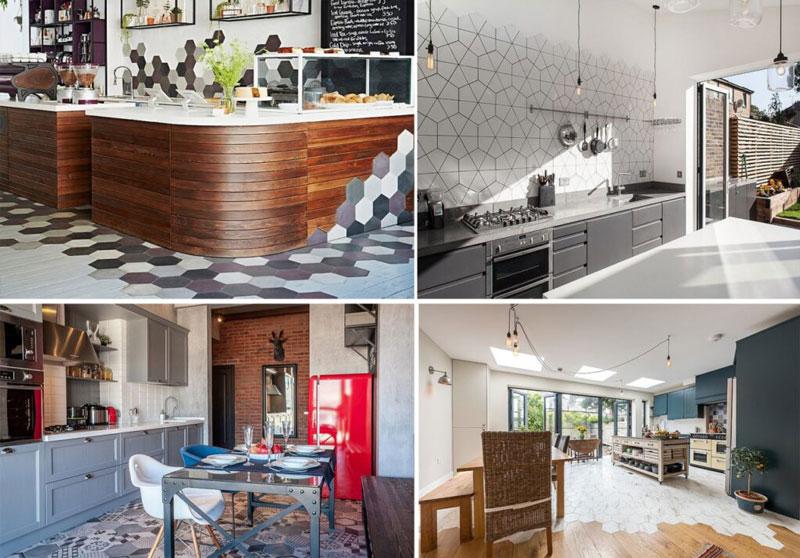 Chọn gạch ốp tường phòng bếp và những yêu cầu quan trọng