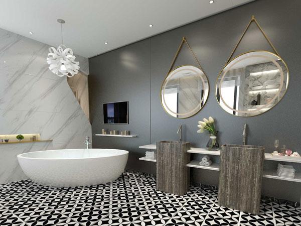[Cập nhật] 30+mẫu gạch lát nền nhà tắm đẹp dẫn đầu xu hướng 2021 4