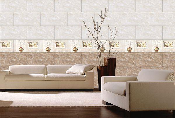 3 cách phối gạch ốp tường phòng khách CỰC ĐỘC ĐÁO 3